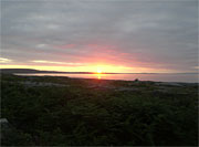 Sunset at Fishermans Cottage inis Oirr Aran Islands